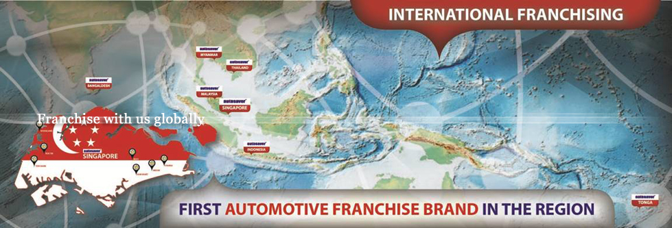 Franchise with us globally